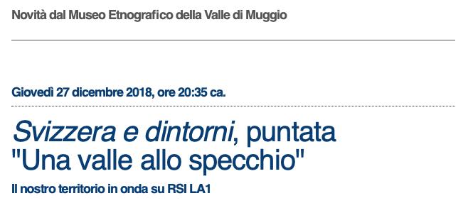 """""""Una Valle allo Specchio"""""""